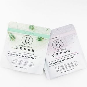 Bathorium Crush Bath Soak Set - Northern Sage Recovery & Eucalyptus Apothecary